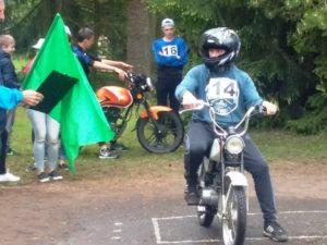 Jaunuju mopedų ir motociklininkų varžybos